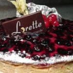 Tarte myrtilles de Lorette