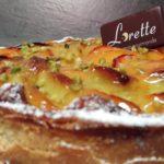 Tarte abricots pistaches de Lorette