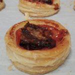 Bouchee jambon tomate parmesan de Lorette