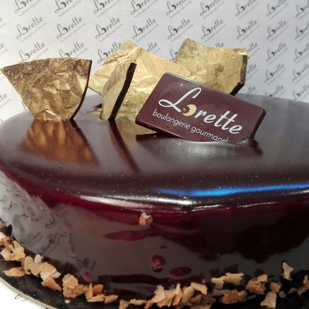 CHARLESTON, entremets chocolat de Lorette