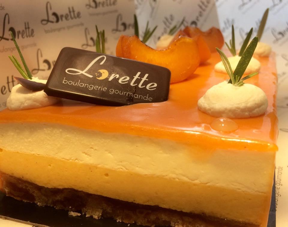 Roussillon, entremets abricot romarin de Lorette