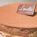 TRUFFE, entremets au chocolat intense de Lorette