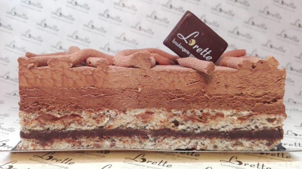 TRUFFE, entremets chocolat intense de Lorette
