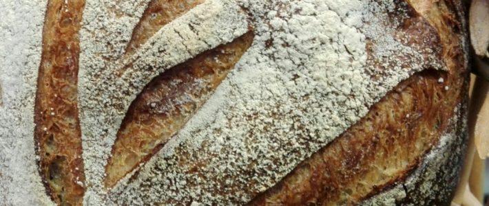 Boule de meule BIO de Lorette boulangerie Paris
