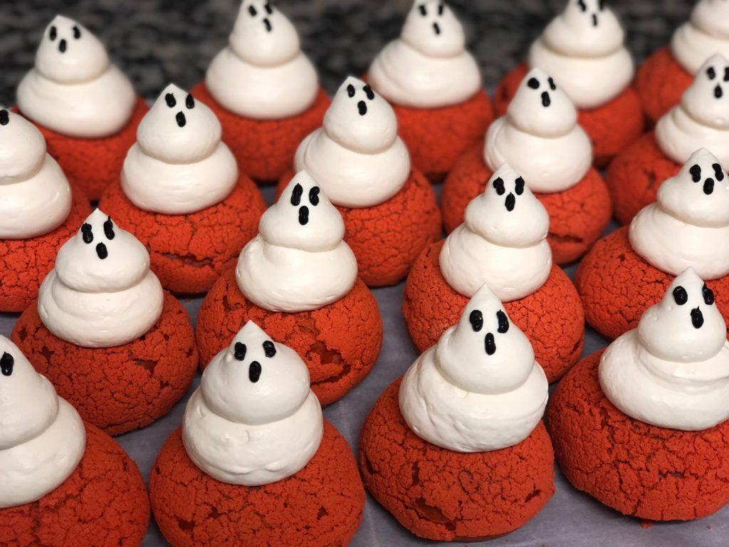 Choux d'Halloween de Lorette boulangerie Paris Butte aux Cailles