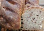 Pain de campagne noix de pécan basilic de Lorette boulangerie Paris