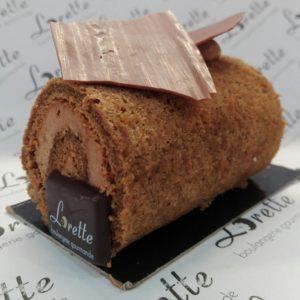 Bûchette traditionnelle au café ou au chocolat de Lorette