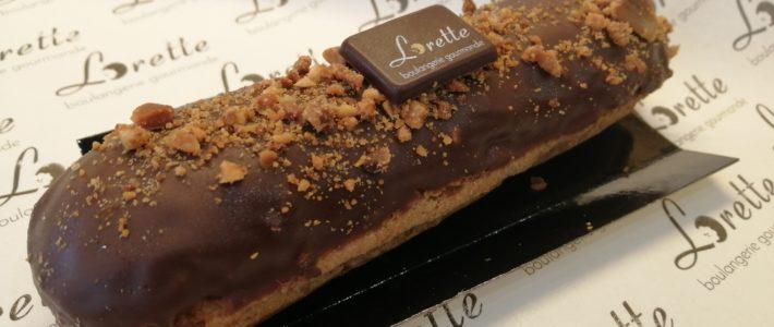 Eclair du mois : cacahuète chocolat