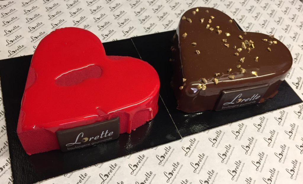 Pâtisseries Saint Valentin