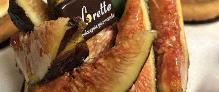 Tartelette aux figues de Lorette