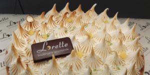 Tarte au citron meringuée de Lorette