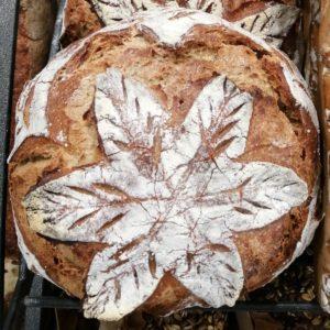 Boule de meule Bio de Lorette, boulangerie à Paris