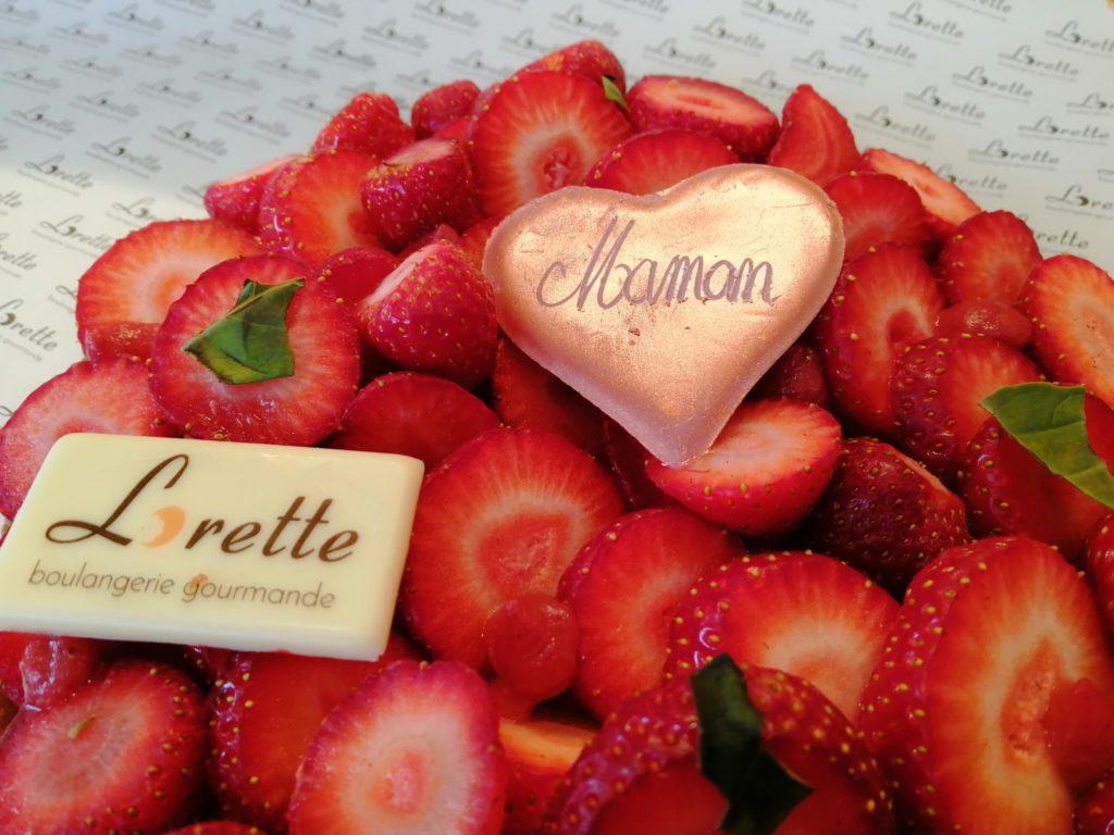 Tarte aux fraises de Lorette