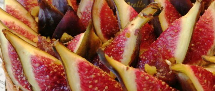 Tarte aux figues fraîches de Lorette, boulangerie à Paris