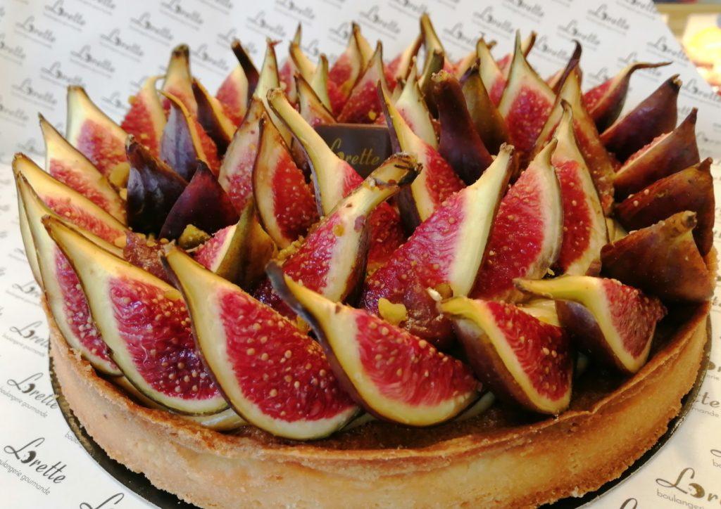 Tarte aux figues fraîches de Lorette
