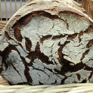 Tourte de seigle Bio de Lorette, boulangerie à Paris