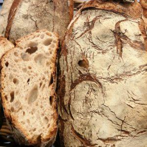 Chazeron, pain Bio meule et seigle de Lorette, boulangerie à Paris