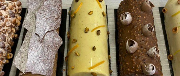 Bûches Noël 2020 de Lorette, boulangerie à Paris