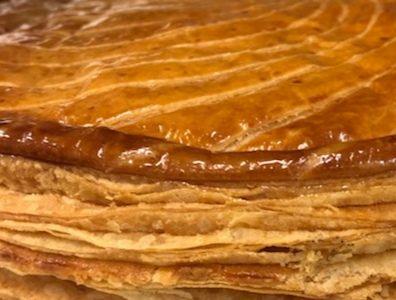 Galette frangipane de Lorette, boulangerie à Paris