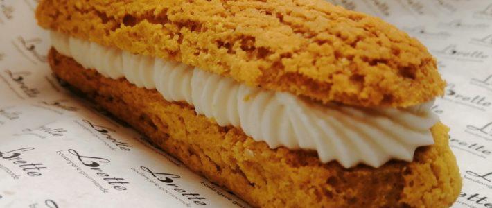 Eclair au citron de Lorette, boulangerie artisanale à Paris